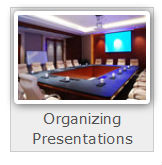 professional organizing presentations